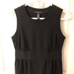 BANANA REPUBLIC xs black shift dress